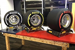 Pirelli reveals 2019 F1 tyre colours