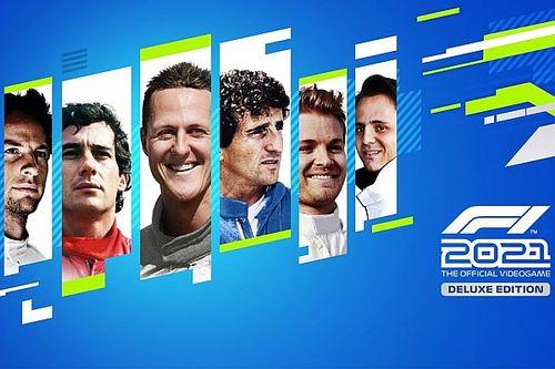 Los 7 pilotos iconos del 'F1 2021': Senna, Schumacher, Prost...