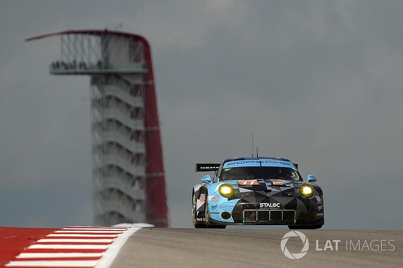 Un problema meccanico nega il podio di GTE-Am a Cairoli ad Austin
