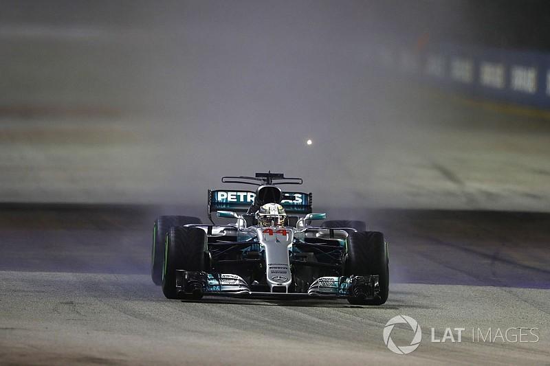 Гран Прі Сінгапуру: Хемілтона визнали найкращим пілотом гонки