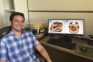 Fórmula 1 Entrevista Designer de Hamilton quase não participa de concurso
