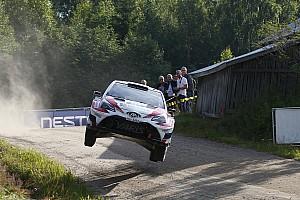 WRC Leg звіт Ралі Фінляндія: у кроці від сенсації