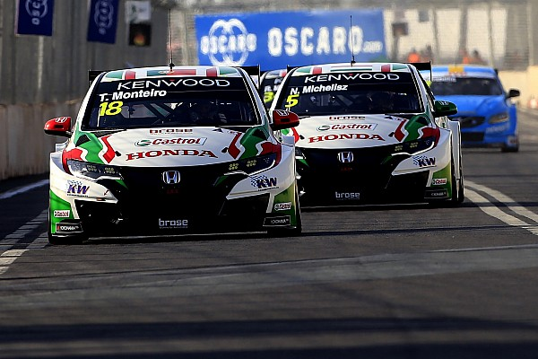 WTCC Герьери выиграл первую гонку в Марокко, Монтейру стал победителем второй