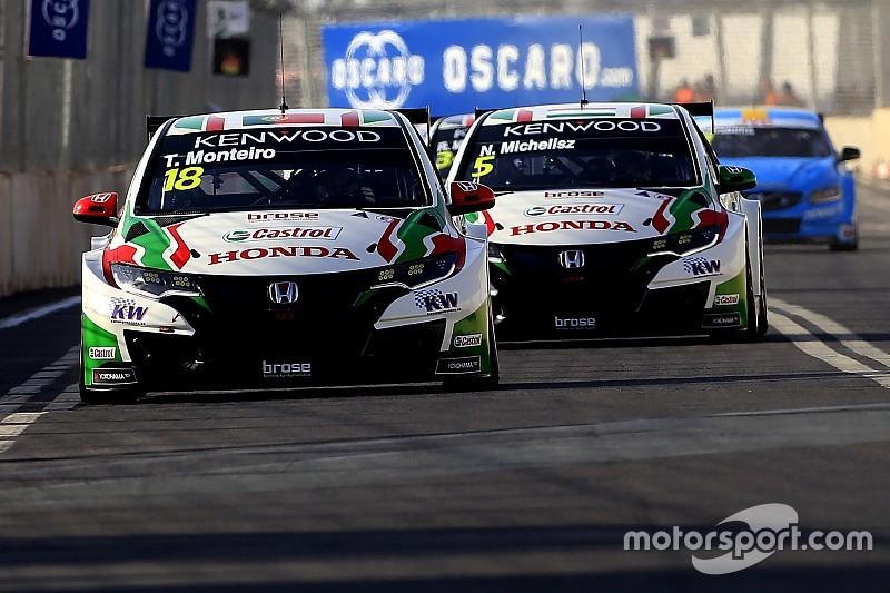 Course 2 - Monteiro emmène un doublé Honda