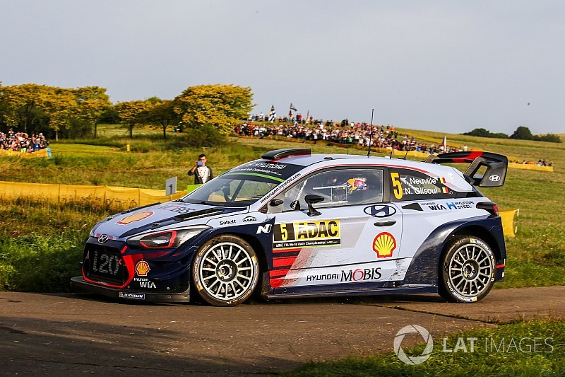 Germania, PS5: squillo di Neuville. Guai al motore per Latvala!