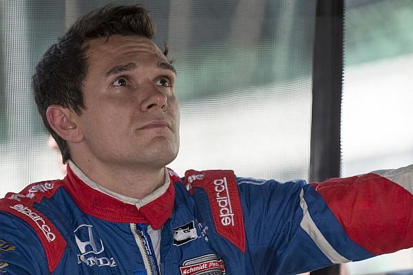 IndyCar Алешин назвал причины своего успеха в Детройте