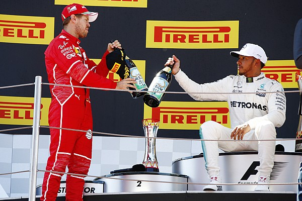 """F1 西班牙大奖赛正赛:汉密尔顿险胜维特尔,芬兰车手惨遭""""退赛日"""""""