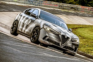 Automotive Breaking news Alfa Romeo Stelvio Quadrifoglio sets SUV Nurburgring record