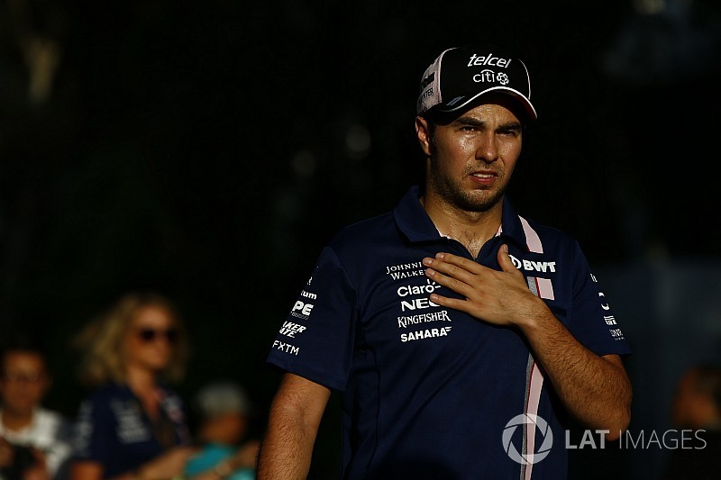 Pérez était sous perfusion avant le GP de Malaisie