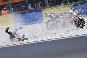 MotoGP Son dakika Kaza yapan Crutchlow'un durumu iyi