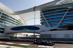 FIA F2 Testing report Maini tops second F2 test day despite penalty
