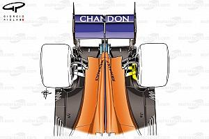 Formel 1 Analyse Formel-1-Technik: So funktioniert McLarens Aufhängungstrick!