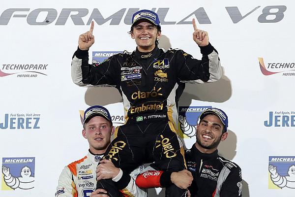 Formula V8 3.5 Crónica de Carrera Fittipaldi se proclama campeón de la Fórmula V8 3.5