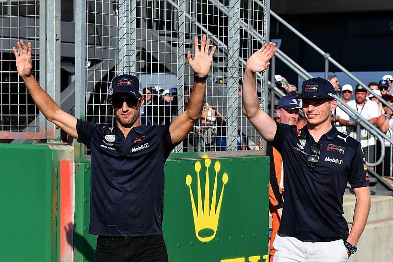 Ricciardo, Verstappen, Gasly és Hartley zenekart alapít?