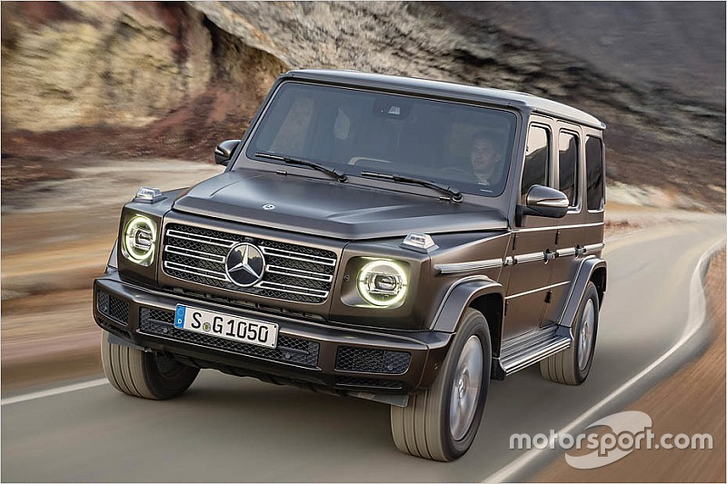 endlich die neue mercedes benz g klasse ist da. Black Bedroom Furniture Sets. Home Design Ideas
