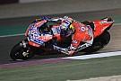 MotoGP Dovizioso travaille