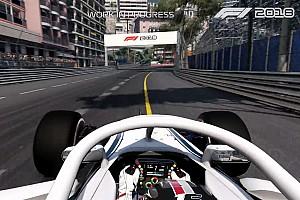 Formula 1 Ultime notizie Leclerc guida a Monaco nel primo video gameplay di F1 2018
