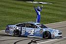 NASCAR Cup Dramatischer Kansas-Sieg für Harvick nach Larson-Show