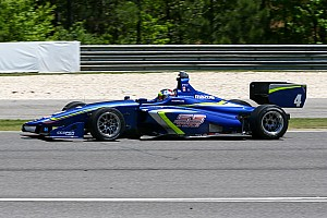 Indy Lights Testing report Serralles tops Indy Lights test at Mid-Ohio
