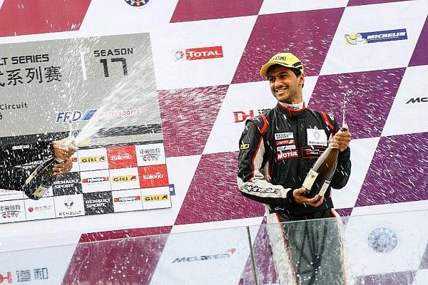 Formula Renault Dias takes double Class B podium on Asian Formula Renault debut