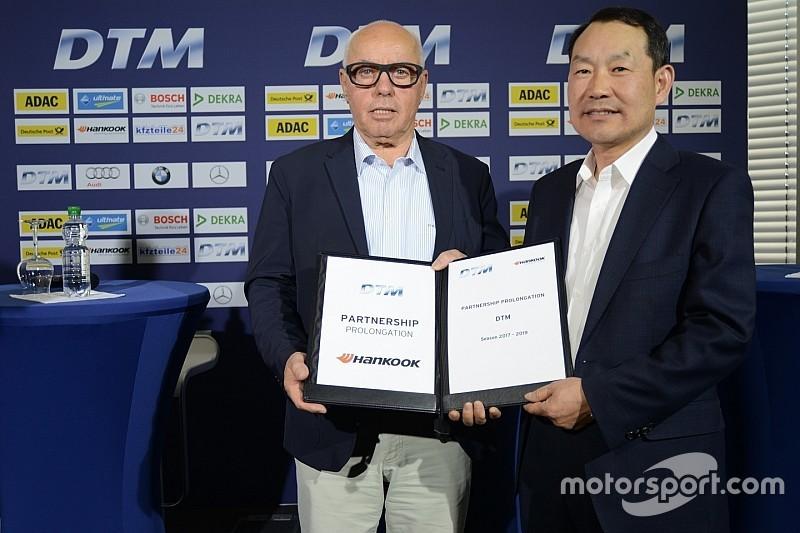 DTM и Hankook продлили сотрудничество