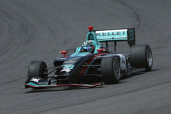 Indy Lights Dalton Kellett conquista una pole a sorpresa alla Freedom 100