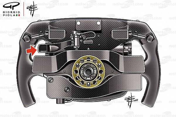 Fórmula 1 Análisis La paleta misteriosa en el volante de Vettel