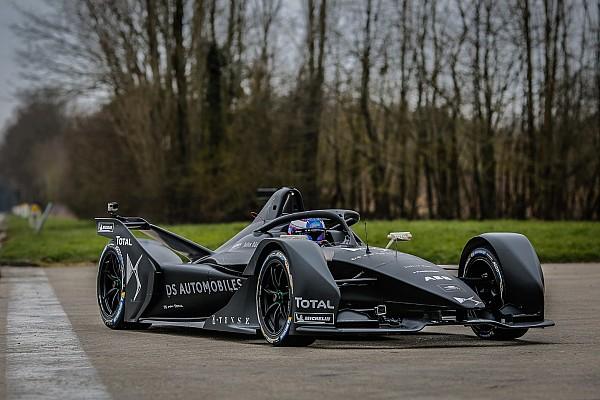 فورمولا إي أخبار عاجلة فريق دي اس يختبر سيارة الفورمولا إي الجديدة للمرة الأولى