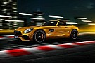 Automotive Mercedes-AMG GT S Roadster 2018, verano caliente...