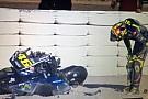 VIDEO: Rossi terjatuh pada hari terakhir tes Qatar