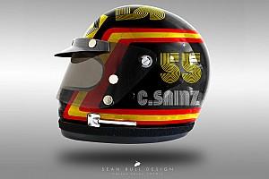 Fórmula 1 Galería Galería: los cascos 'retro' de los pilotos de F1