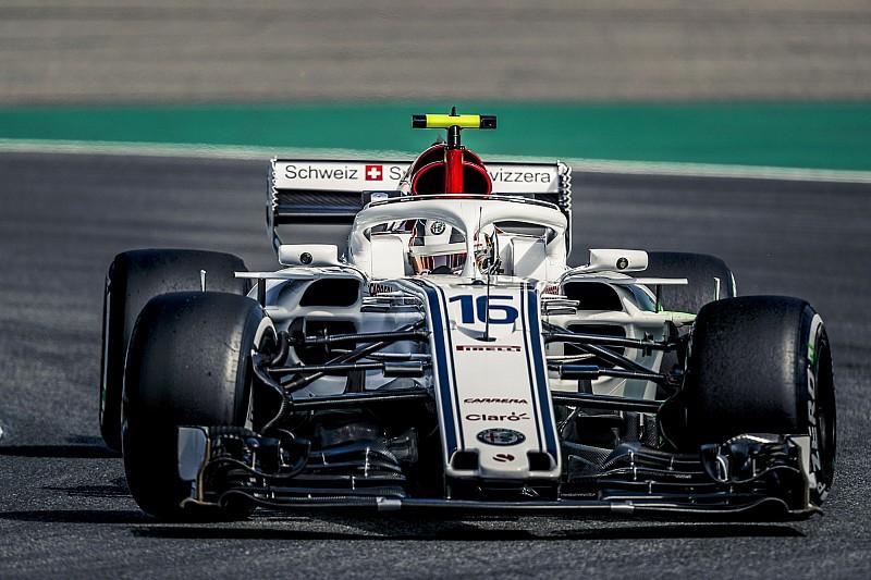 Almanya GP 3. antrenman: Yağmurun etkilediği 3. seansta Leclerc ilk sırada