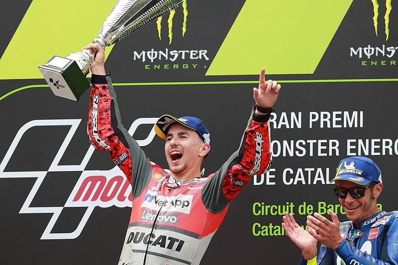 Lorenzo ora si gode la Rossa: