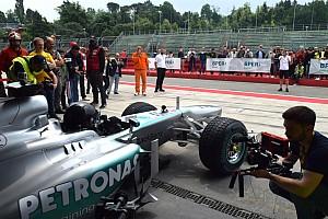 Formula 1 I più cliccati Fotogallery: Il giorno da pilota di Aldo Costa vissuto a Imola