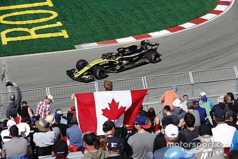 Los seis pilotos de Renault tienen motores nuevos en Canadá