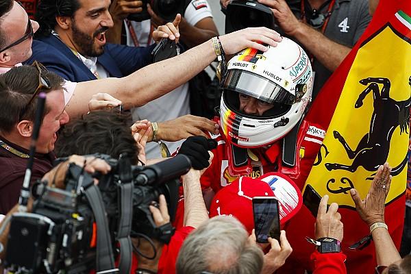 Vettel, une 50e