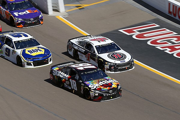 Kyle Busch finishes second again: