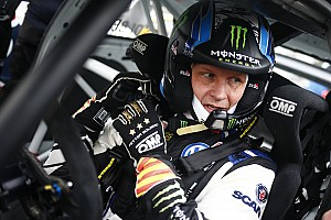 World Rallycross Qualifying report Belgium World RX: Solberg ahead on Day 1 despite damage
