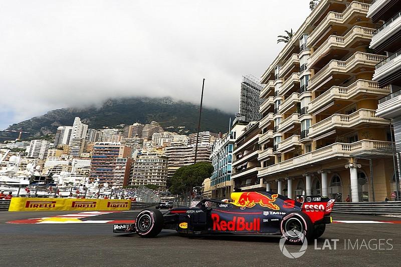 Ricciardo comanda dobradinha da Red Bull no TL1 em Mônaco