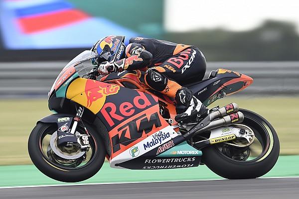 Moto2 Prove libere Austin, Libere 1: Oliveira mette in vetta la KTM, scivola Bagnaia