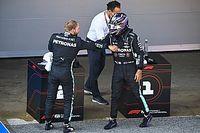 Hamilton verslaat Bottas voor pole in Barcelona, Verstappen derde