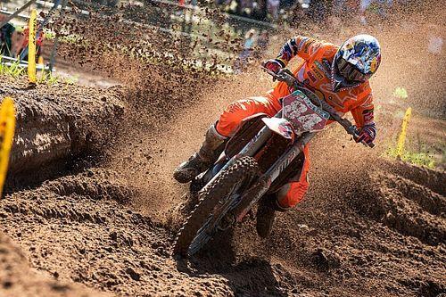 MXGP Riga: Herlings loopt GP-zege mis na val
