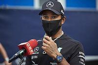 Após liderar dobradinha da Mercedes, Hamilton diz que rivais podem estar escondendo o jogo