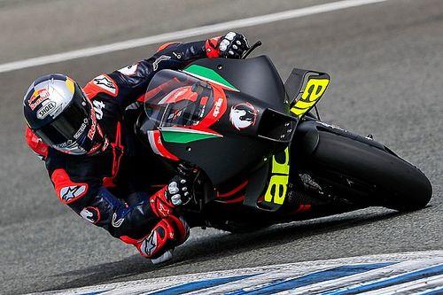 Dovizioso to continue testing Aprilia MotoGP bike in 2021