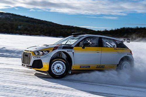 WRC: la EKS JC ha preparato un'Audi A1 Quattro Rally2