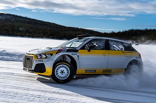 EKS launches Audi A1 Quattro Rally2 car