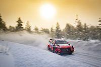 WRC: Tanak mantiene el tipo, pese a un susto en el Artic Rally