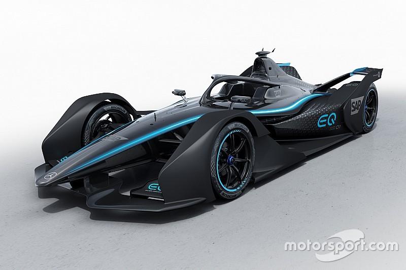 Mercedes reveals Formula E concept livery