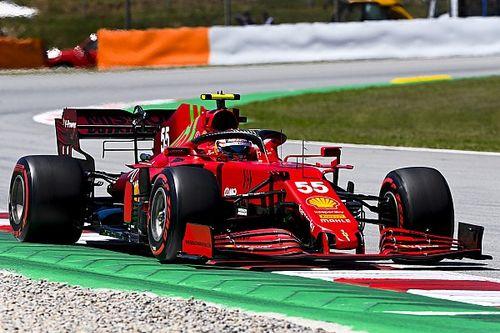 Hoopgevende kwalificatie Ferrari, maar Sainz vreest bandendegradatie