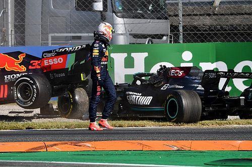 """F1 - Verstappen rebate críticas por não checar como Hamilton estava após acidente em Monza: """"Hipócritas"""""""